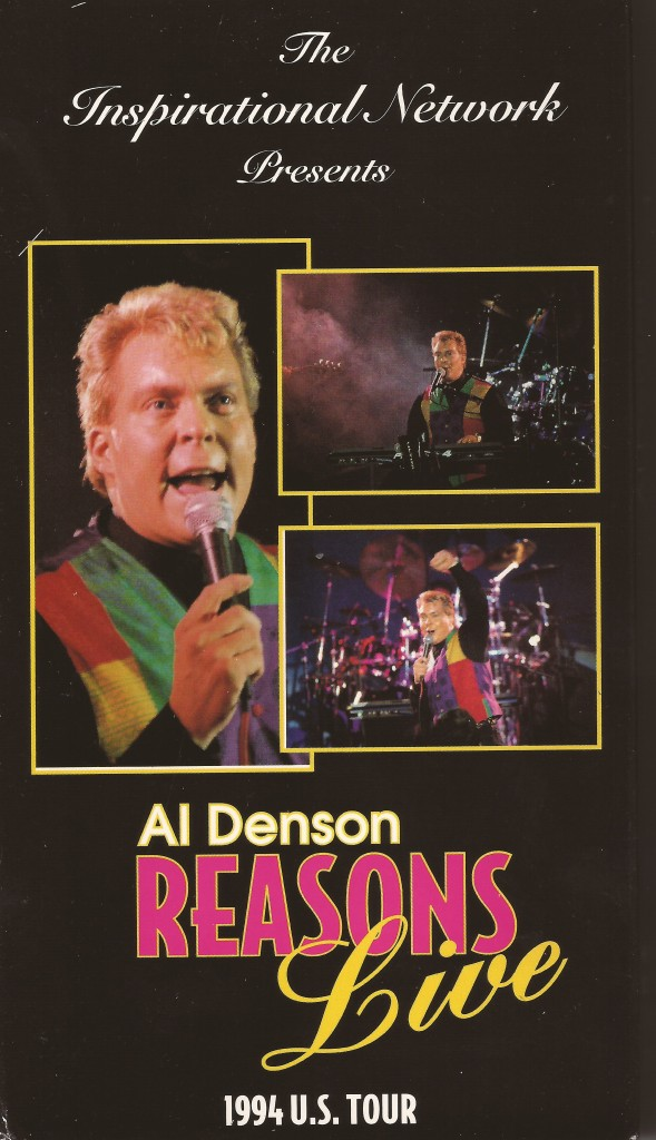 "Al's live ""Reasons"" tour was sold on VHS. For the kids out there, VHS is like a bigger, blurrier DVD"